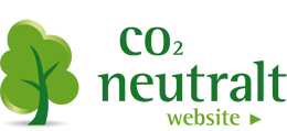 Vi er et CO2 neutralt website