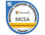 MCSA: Data Engineering with Azure certificering og kurser